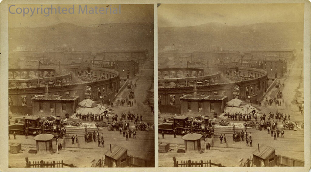 Stereoscope image mentioned in the podcast episode.